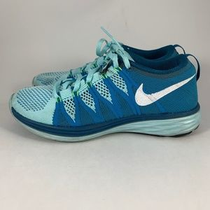 NIKE Flyknit LUNAR2 Running Shoes Trainers Sz 7